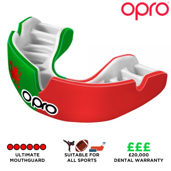Opro Power-Fit Countries (Adult 10+) | Mouthguard | OproShield