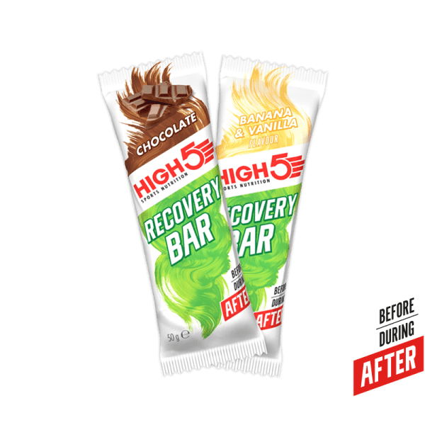 High5 Recovery Bar with Chocolate Coating (By box) | Recovery Bar | High5