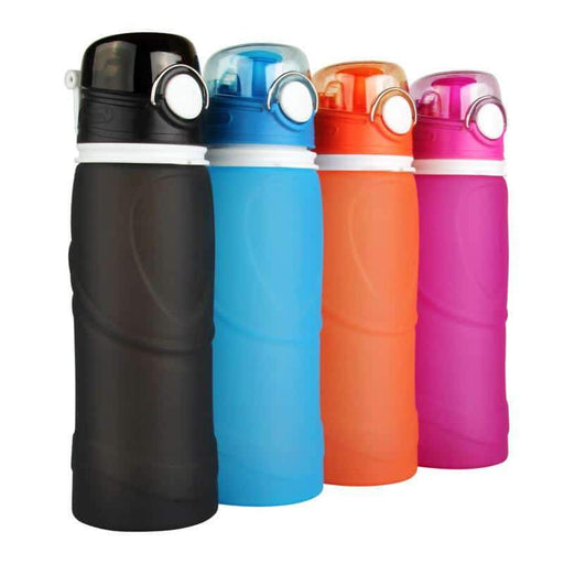 S5 750ml Silicone Water Bottle Swifteria