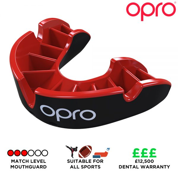 Opro Silver Mouthguard (Adult 10+) | Mouthguard | OproShield