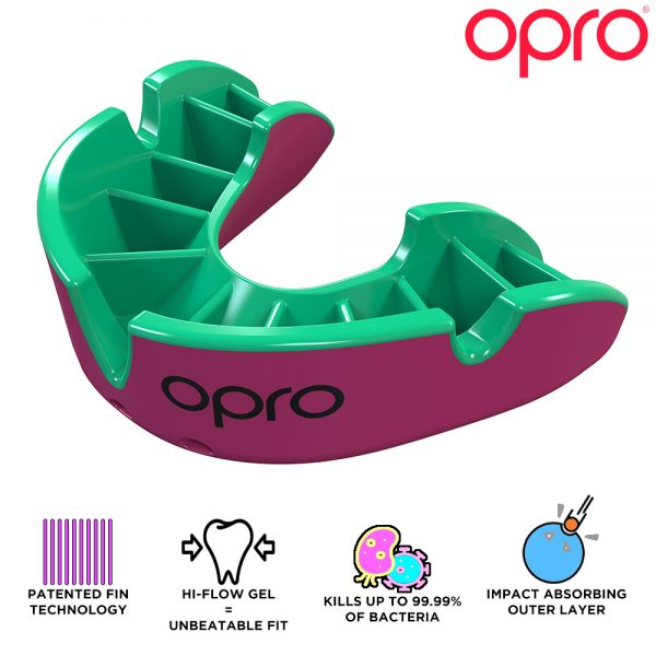 Opro Junior Silver Mouthguard (Up To Age 10) | Mouthguard | OproShield