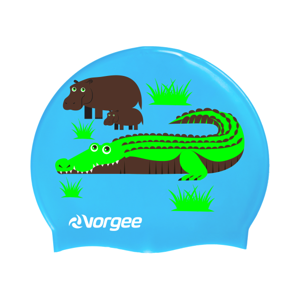 Vorgee Junior Character Swim Cap | Swimming | Vorgee
