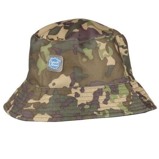 Bucket Hat Camo Khaki | Swimming | Splash About