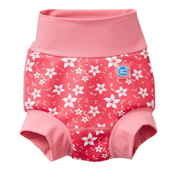 New Happy Nappy™ Pink Blossom | Swimming | Splash About
