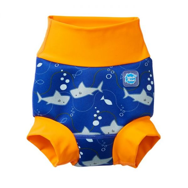 New Happy Nappy™ Shark Orange | Swimming | Splash About