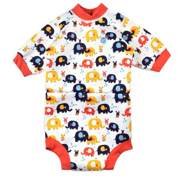 Happy Nappy™ Wetsuit Little Elephants | Swimming | Splash About
