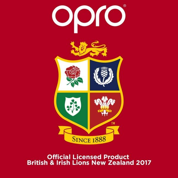 Opro Junior Silver British & Irish Lions Mouthguard (Up To Age 10) | Mouthguard | OproShield