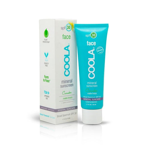 Coola Mineral Face SPF 30 Cucumber Matte Finish Moisturizer (50ml) | Skin Care | Coola