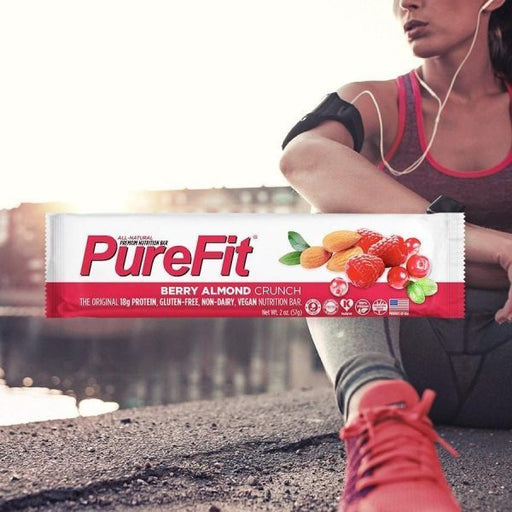 PureFit Nutrition Bars (15pcs/Box) Berry Almond