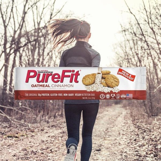 PureFit Nutrition Bars (15pcs/Box) Oatmeal And Cinnamon