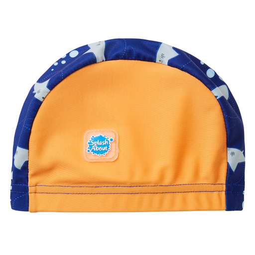 Swim Hat Shark Orange | Swimming | Splash About