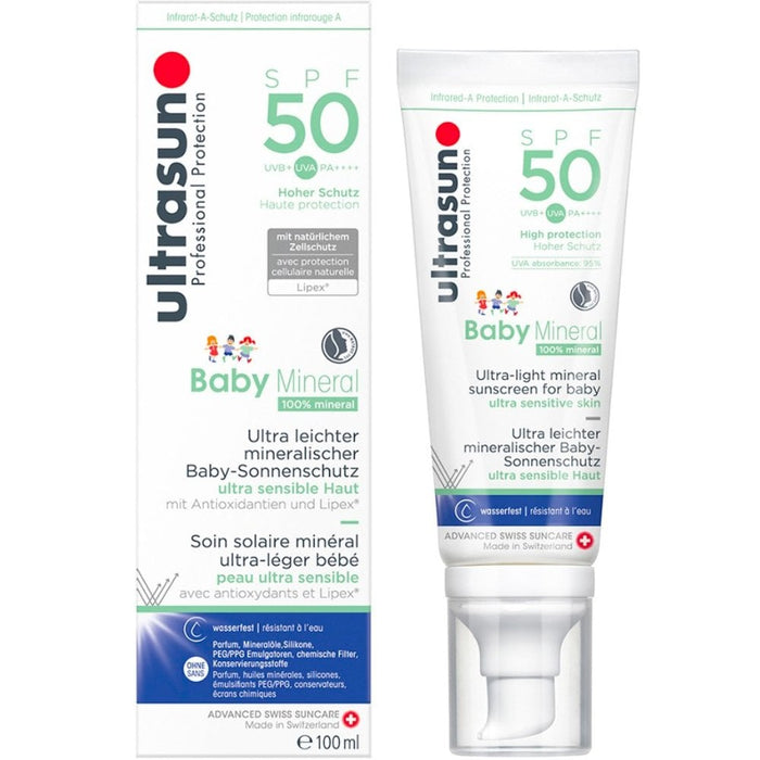 High 50 Baby Mineral 100ml | Skin Care | Ultrasun