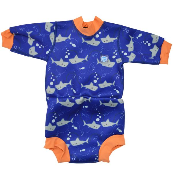 Happy Nappy™ Wetsuit Shark Orange | Swimming | Splash About