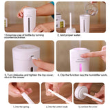Ultrasonic Air Humidifier Essential Oil Diffuser