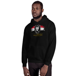 Lion Mindset Unisex Hooded Sweatshirt (Egypt) - Authenticblkwidow