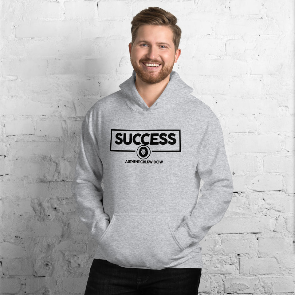 Authenticblkwidow SUCCESS (blk letters) Unisex Hoodie - Authenticblkwidow