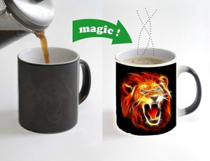 King Lion Color Changing Coffee Mug - Authenticblkwidow
