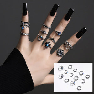 Gorgeous Bohemian Style Multi-Ring Sets