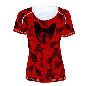 Egyptian Cat Woman T-Shirt - Authenticblkwidow