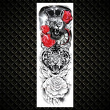 Sexy Full Arm Temporary Tattoos For Men & Women - Authenticblkwidow