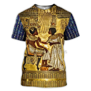Ancient Egyptian Hieroglyphics T-Shirt - Authenticblkwidow