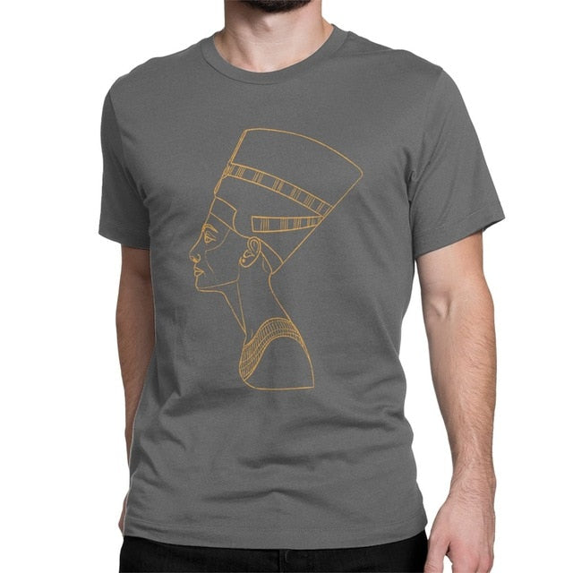 Ancient Egyptian Queen Nefertiti T Shirt - Authenticblkwidow