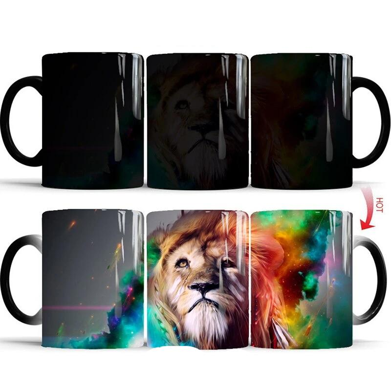 Magic Color Changing Lion Mug - Authenticblkwidow