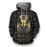 Eye of Horus Egyptian Pharaoh Hoodie