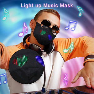 Fashion Light Up Luminous LED Glowing Mask