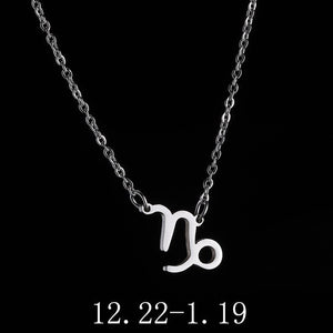 Zodiac Constellation Necklace - Authenticblkwidow