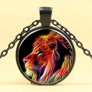 Vintage Lion Pendant Necklace - Authenticblkwidow
