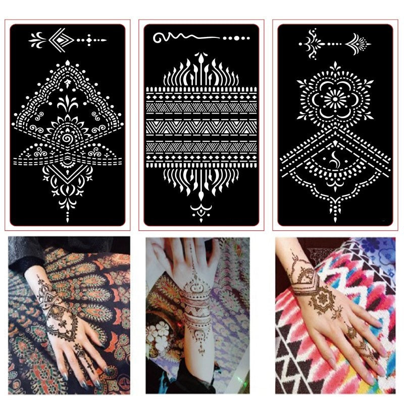 Stencils For Painting Henna Kit