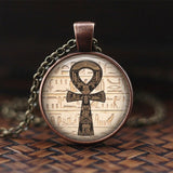 "Egyptian ""Lord Of The Underworld"" Anubis Pendant Necklace - Authenticblkwidow"