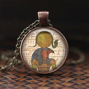 "Egyptian ""Lord Of The Underworld"" Anubis Pendant Necklace"