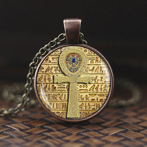 Ancient Egyptian Ankh Pendant Necklace