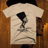 Egyptian Queen Nefertiti T-Shirt - Authenticblkwidow