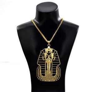 Exquisite Ancient Egyptian Pharaoh Choker Necklace - Authenticblkwidow