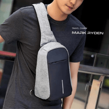Load image into Gallery viewer, OuhSnap x Mark Ryden Charging Backpacks - Crossbody