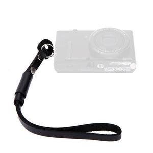 SnapStrap Black Leather Hand Strap