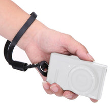 Load image into Gallery viewer, SnapStrap Black Leather Hand Strap