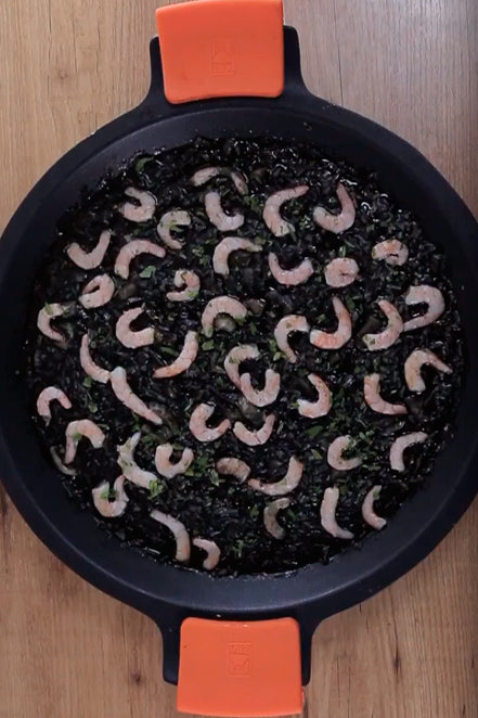 Arroz negro, vídeo receta