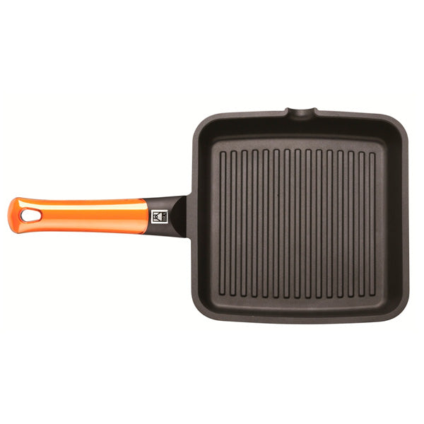 Grill con rayas Efficient Orange