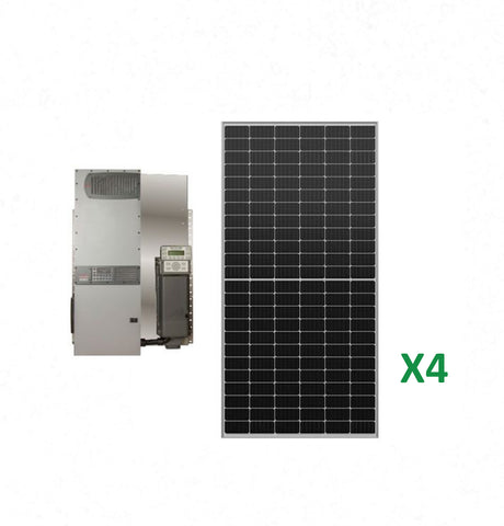 1.6kW Solar Off-Grid Kit with 3.6kW Power System