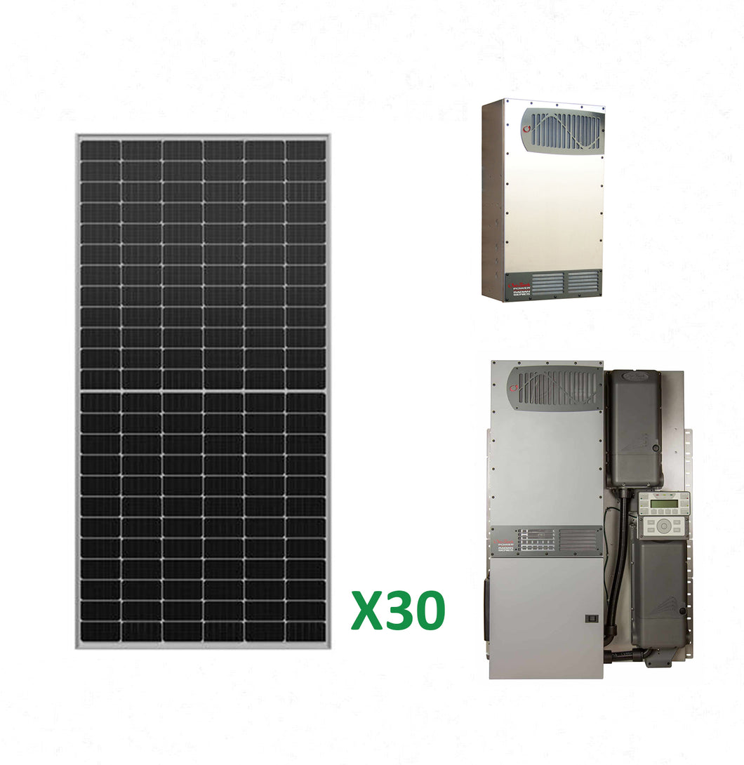 12kW Solar Off-Grid Kit with 16kW Power System