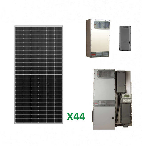 17.6kW Solar Off-Grid Kit with 16kW Power System