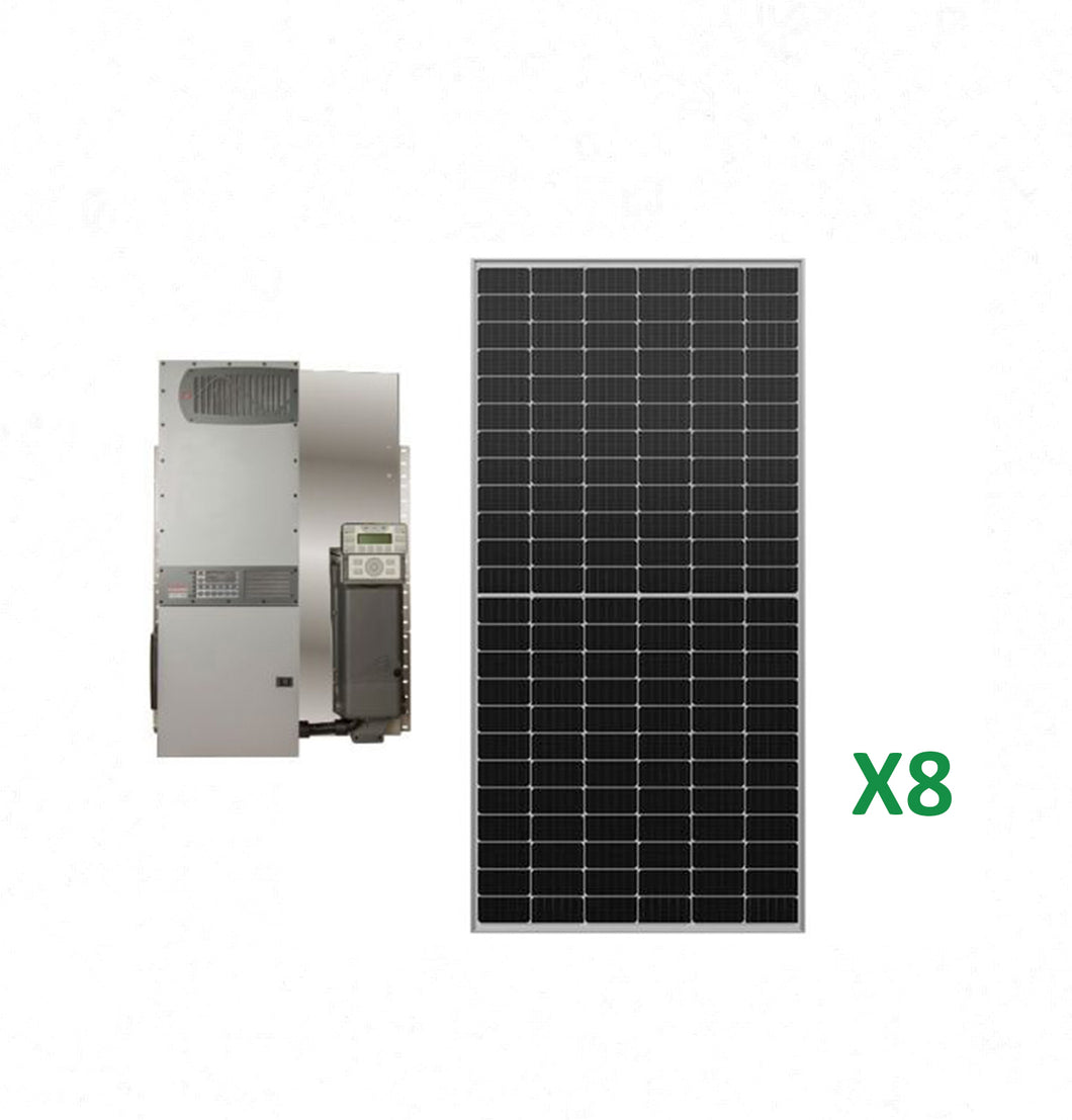 3.2kW Solar Off-Grid Kit with 4kW Power System