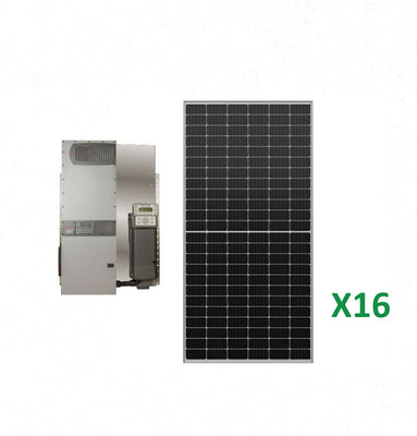 6.4kW Solar Off-Grid Kit with 4kW Power System