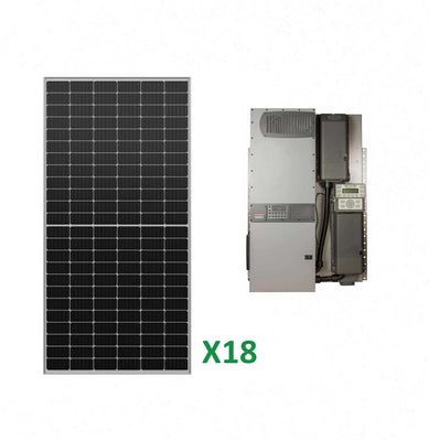 7.2kW Solar Off-Grid Kit with 8kW Power System