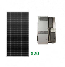 Load image into Gallery viewer, 8kW Solar Off-Grid Kit with 8kW Power System
