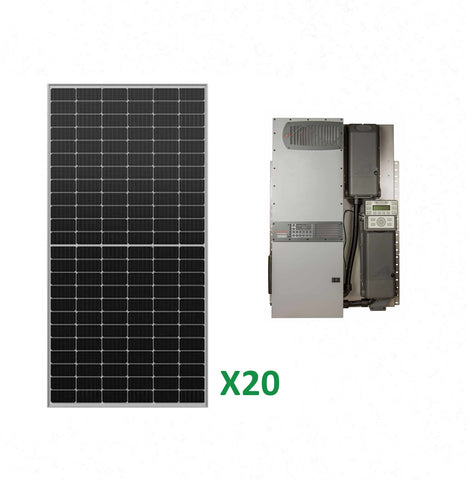 8kW Solar Off-Grid Kit with 8kW Power System